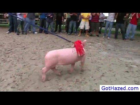 Extreme farm gay hazing 1 by GotHazed