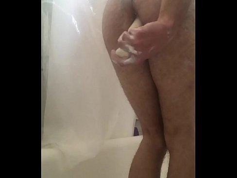 gay ass dildo hitting bdsm